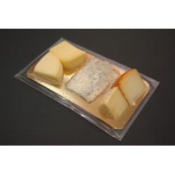Tabla de 5-6 tipos de quesos asturianos