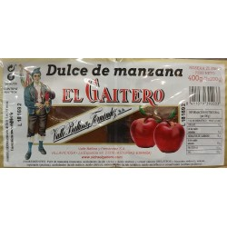 Dulce de manzana El Gaitero o Vereterra - 400 gr.