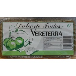 Dulce de Ciruela Vereterra - 400 gr.