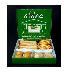 Llambionaes - Caja con 16 dulces asturianos