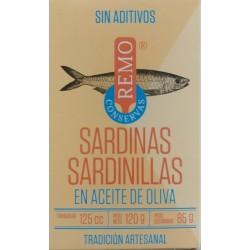 Sardinillas en aceite de oliva - Remo