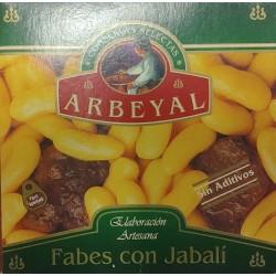 Fabes con jabalí Arbeyal - 420 g.