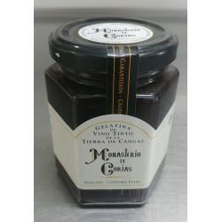 Gelatina de vino tinto de Cangas
