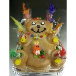 Bollo de Pascua Osito Mantecao