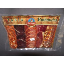 Tabla de embutidos asturianos
