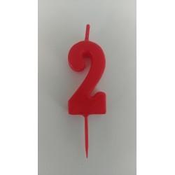 Vela Cumpleaños Nº2