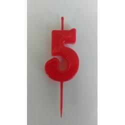 Vela Cumpleaños Nº 5