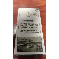 Anchoas del Cantábrico Entreislas - 50 gr.