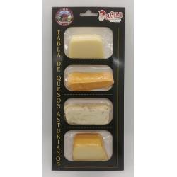 Tabla de 4 quesos asturianos El Güaje - 250 g.